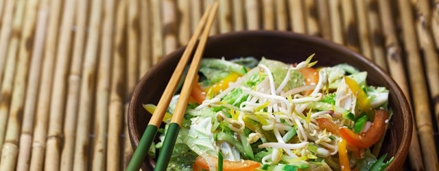 Salades asiatiques