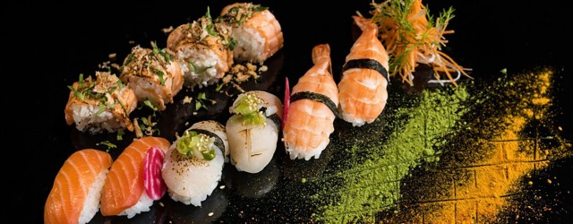 Plateaux sushis