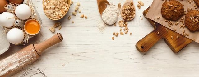 Farines, sucres et aides à la pâtisserie