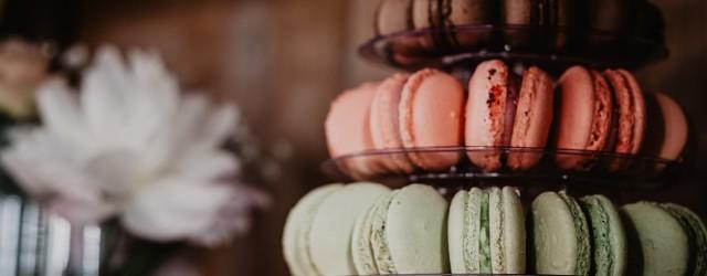 Macarons desserts