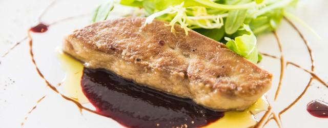 Accompagnement pour foie gras