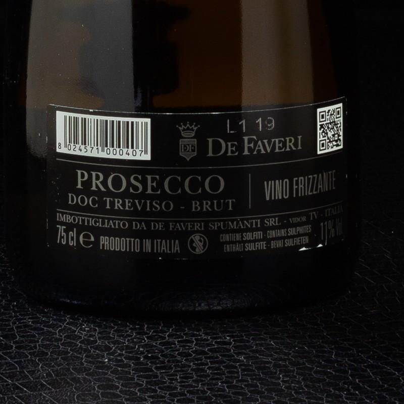 Prosecco De Faveri Spago DOC Treviso 75cl  Prosecco